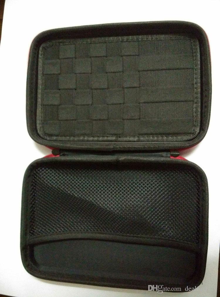Boîte à outils Étuis de transport Étui à cigarettes Carry eGo avec taille: 220 x 140 x 45mm