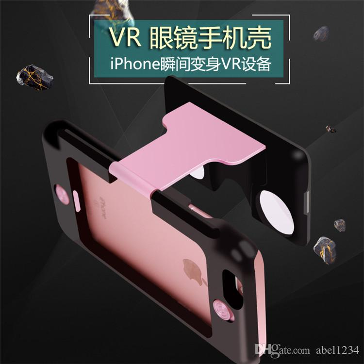 2016 New VR case 3D Glasses phone case for apple iphone 6 6s plus cases 4.7 5.5 virtual reality glasses case DHL