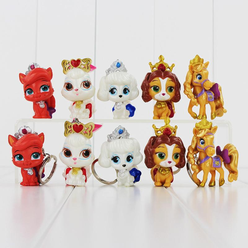 Grosshandel Nette Prinzessin Palace Pets Mit Krone Pvc Puppen Abbildung Modell Toys Christmas Gift Fur Kindergeschenkeinzelverkauf Von Emma88 579 Auf De