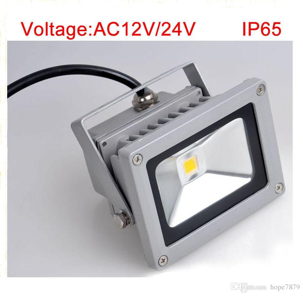 Ac 12v 24v 10w led outdoor flood light low voltage landscape lighting led lighting waterproof ip65 with high lumen bridgelux chip flood light fixtures