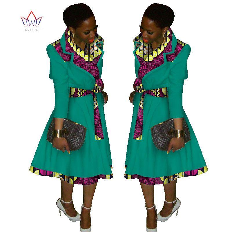 8a088daf019 Autumn New Female Women Coat Overcoat African Dashiki Africa ...