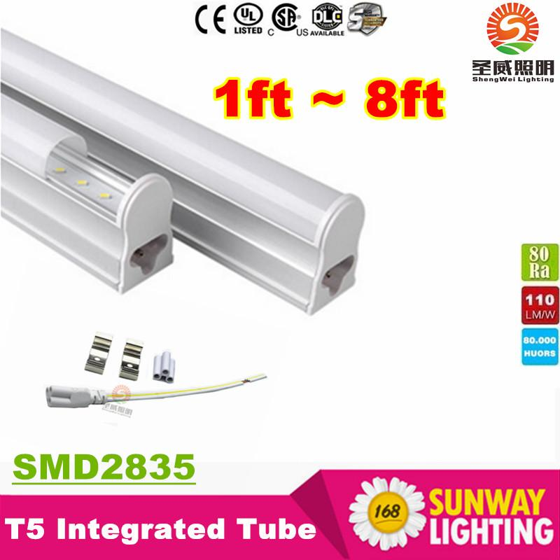T5 5ft Led Light S 34w 3500 Lumens Integrated 1 5m 150mm Fluorescent Ac 110 277v Ce Rohs Fixture T8 From Sunway168