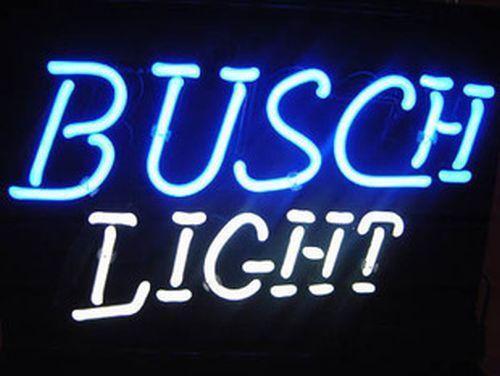 2019 Hot Busch Light Neon Sign Store Display Beer Bar Club