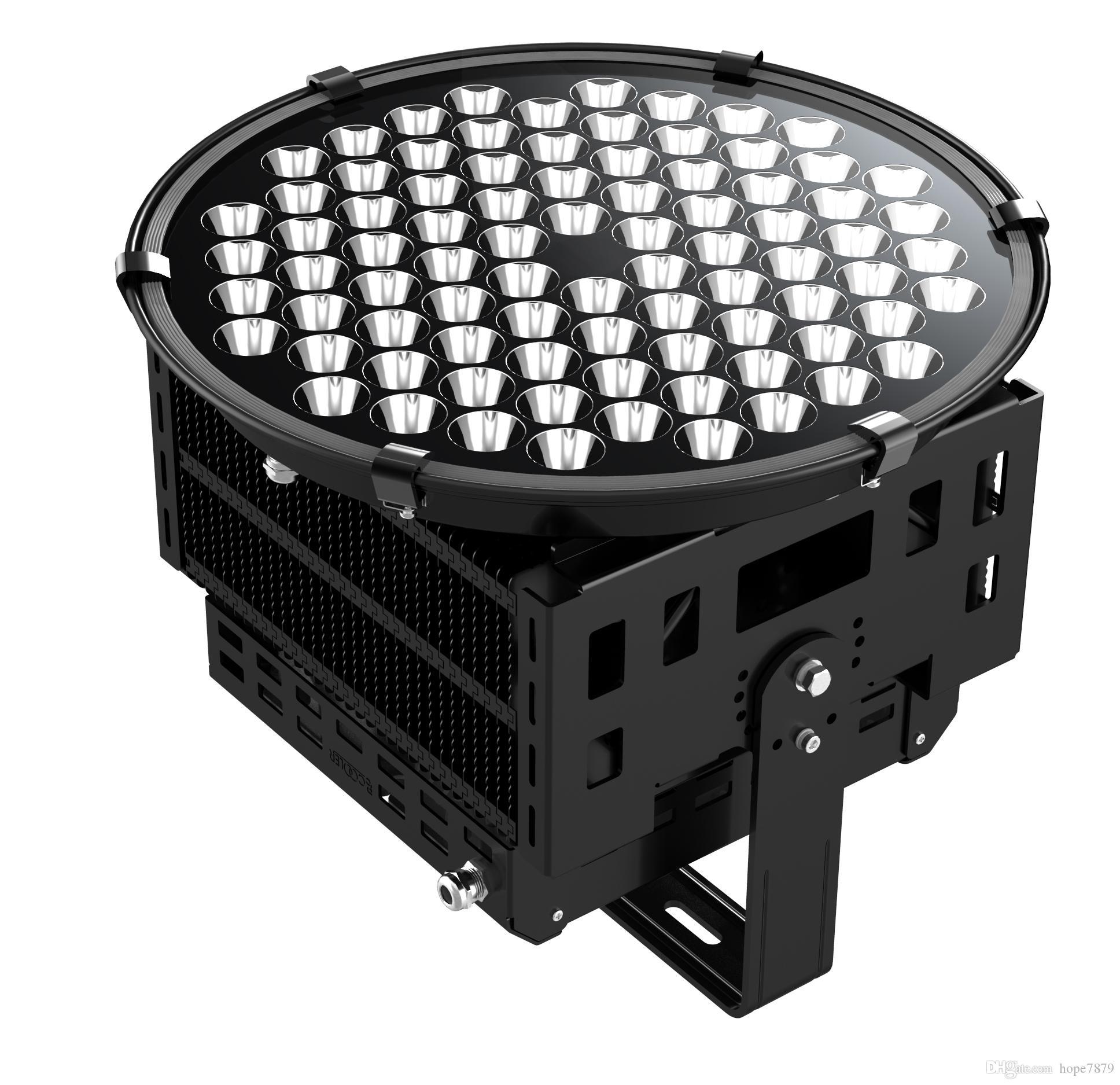 500W high mast lighting stadium soccer floodlights football pitch lighting halogen replacement 3D heat dissipation FIN housing