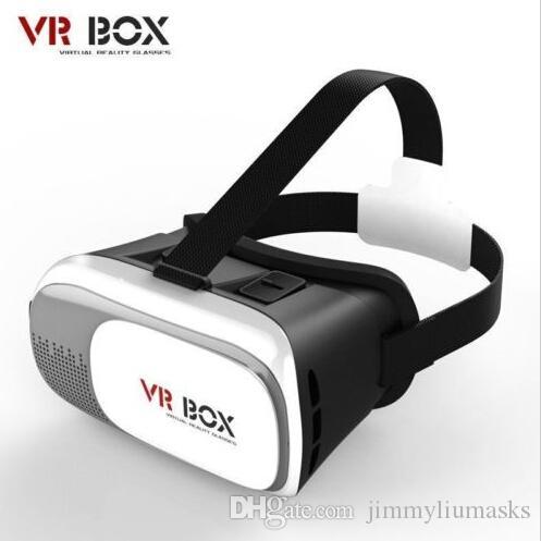 3D VR صندوق 2nd الواقع الافتراضي نظارات لعبة الورق المقوى للهواتف الذكية 3.5 بوصة ~ 6 بوصة جديد