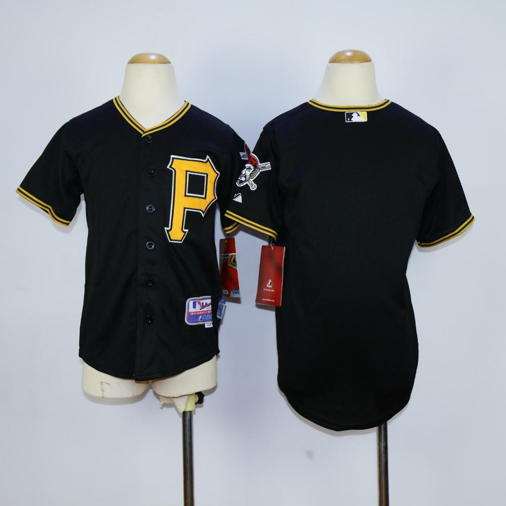 2017 pittsburgh pirates cool base kids jerseys blank black baseball jersey name number all stitched best