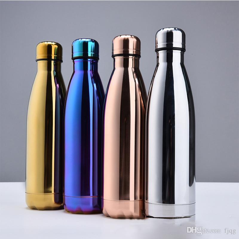 500ml Stainless Steel Water Bottle Vacuum Keep Warm Bottle