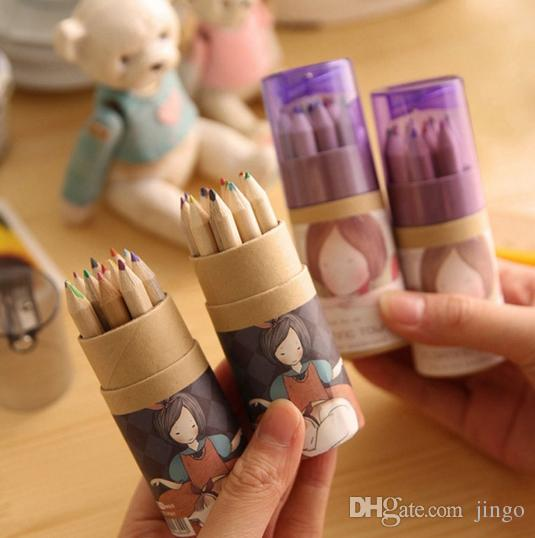Secret Garden Coloring Pencils Enchanted Forest Design Painting Pens Colored Pencils Creative Writing Tools Colouring Pencils nt