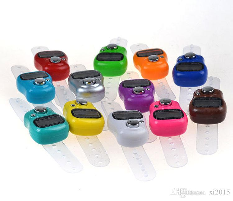 New Arrive Mini Digital Electronic Muslim Finger Ring Tally Counter Digital Tasbeeh Tasbih Wholesale