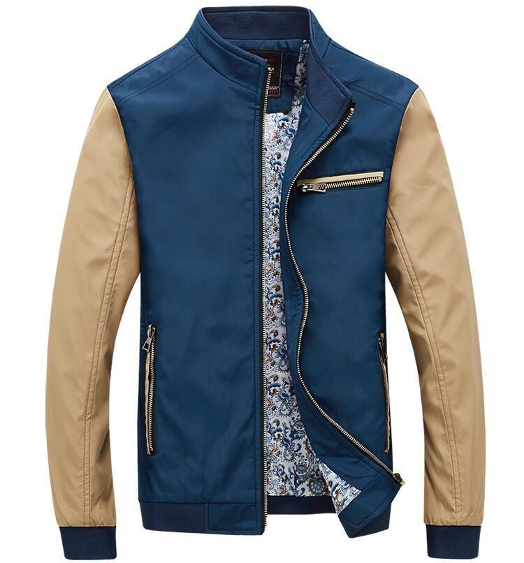 Slim Chaqueta Jacket Bomber para Hombre iFGilxkHd