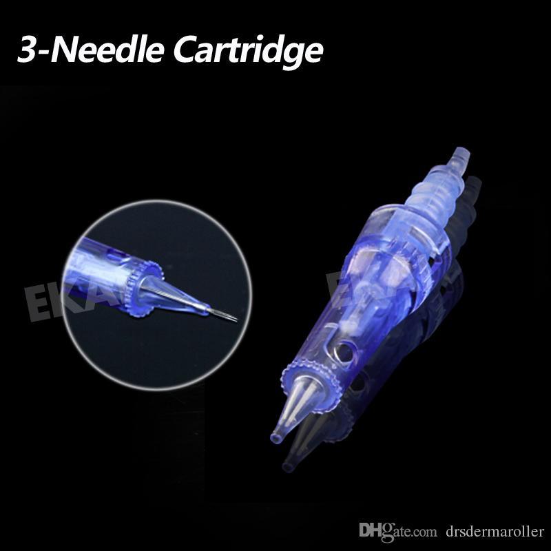 1 3 7 9 12 36 42 pinos Nano chip Agulha Cartucho Derma Pen Dr.pen A1 Derma Carimbo agulha de substituição facial massagem tratamento de olhos