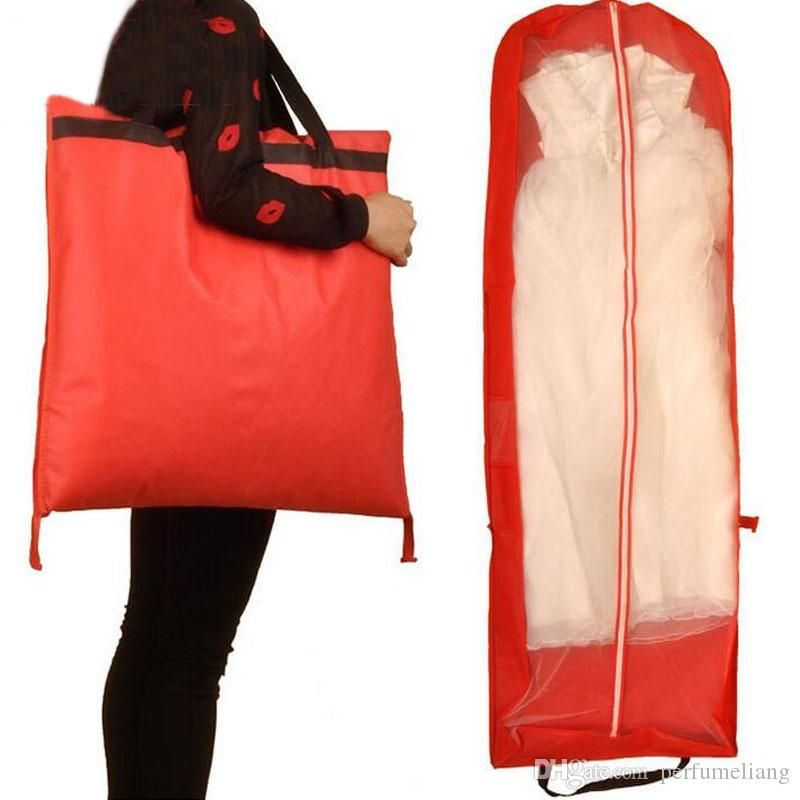 Red Garment Bag For Wedding Dress Wedding Gown
