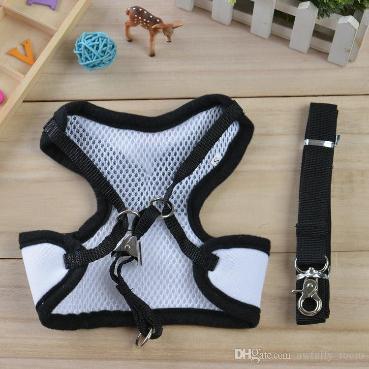 7 Styles Creative Dog Traction Rope Puppy Dog Teddy Vest Style Personality Evening Dress Bow Backpack Pet Supplies Clothes Coat