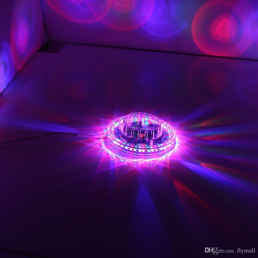 8W 48 LED RGB partido de la etapa Light Bar Disco Bar DJ Efecto de luz automático / activado por voz, la bola de cristal mágica giratoria de luces del escenario colorido