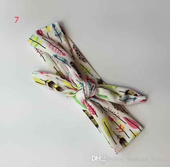 아기 INS는 Headwrap Bowknot 탄성 어린이 액세서리 bowknot 머리띠 14 디자인 패션 아이 인 귀여운 활 사랑스러운를 bowknot