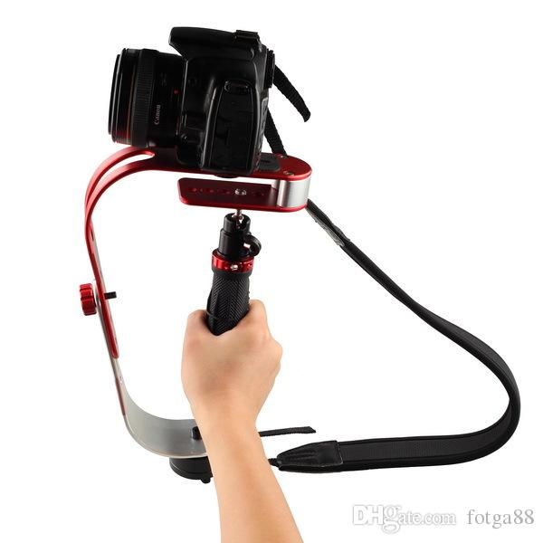 Mini Handstabilisator Video Steadicam für Digitalkamera HDSLR DSLR Camcorder DV kostenloser Versand