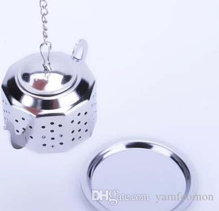 Coffee Tea Infuser Tools 304 Stainless Steel Teapot Shape Strainer tool