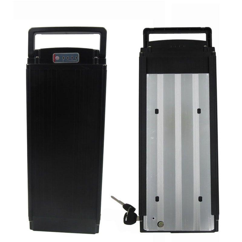 Kuyruk lambası 30A BMS 42V 2A şarj Ücretsiz gönderim 1000W 36V 25AH Arka raf Lityum batarya 36V Elektrikli Bisiklet akü