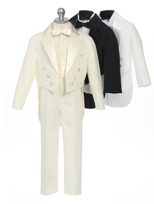 2015 nouveaux smoking de costume de garçon sur mesure fait sur mesure cravate revers beaux costumes de garçons pour le mariage / anniversaire / soirée / bal de finissants veste