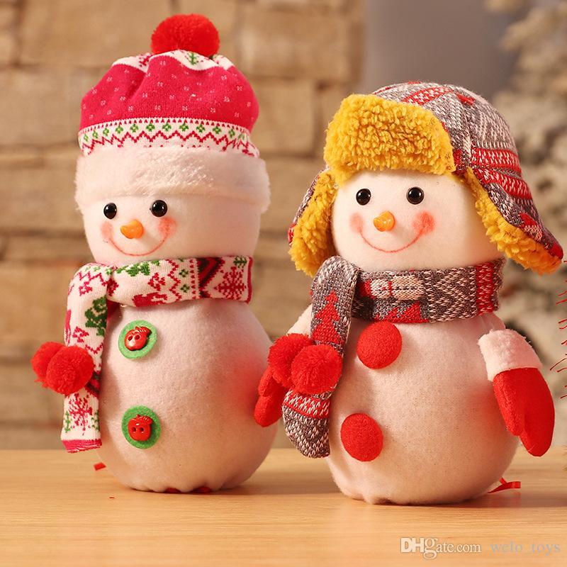 Großhandel Weihnachten Schneemann Kinder Apple Bag Geschenk Cartoon ...