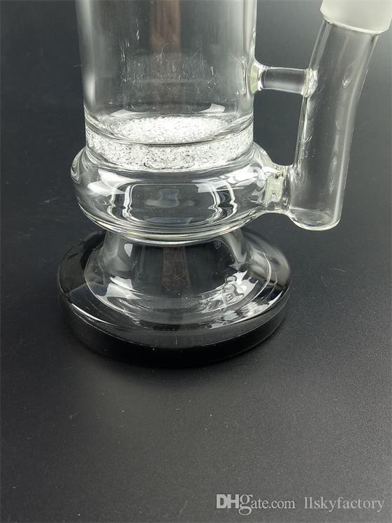 2019 Бонг стекло водопровод стекло Бонг Бонг утилизации водопровод две функции с нефтяной вышке травы чаша бесплатная доставка