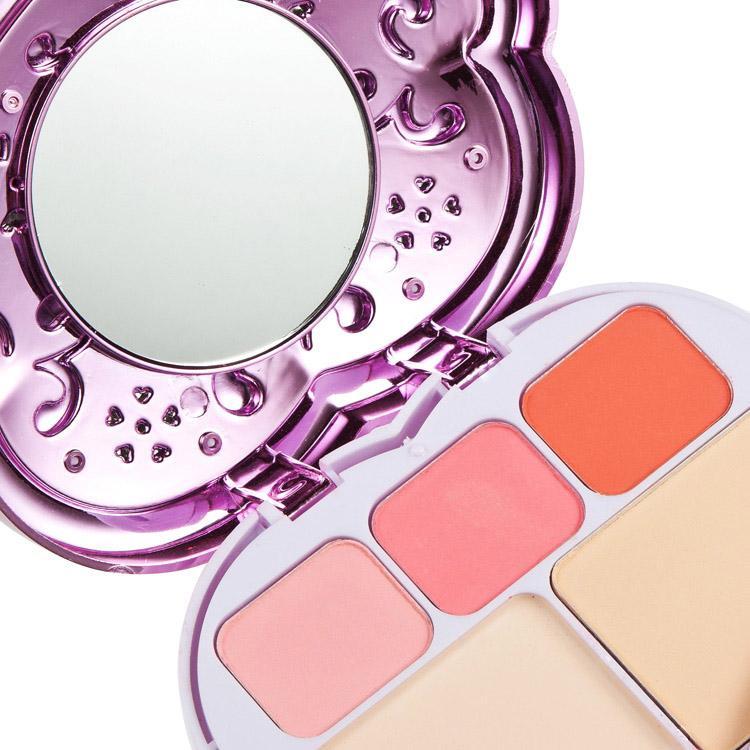 Nueva Llegada Paleta de Maquillaje Set Eyeshadow Lipstick Foundation Powder Blusher Con Pequeño Espejo Interior Set de Maquillaje Profesional