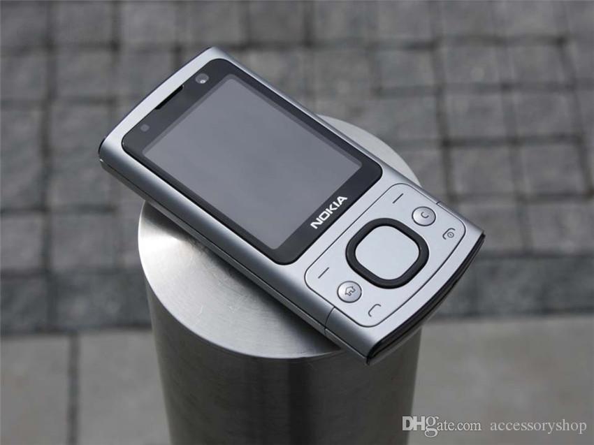 Refurbished Original Nokia 6700S 6700 Slide Unlocked Phone Symbian OS 2.2 inch Screen 5.0MP Camera GSM 3G Cell Phone Free DHL