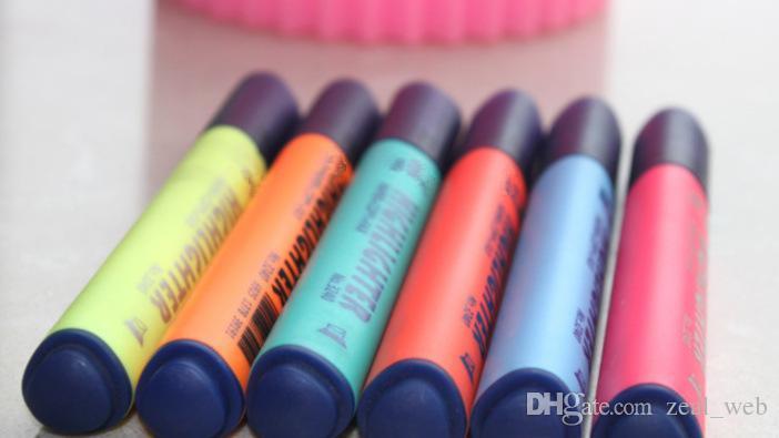 8 색 만화 스케치 마커 펜 아트 마커 펜 5 세대 5 형광펜 알코올 유성 표식 펜 아트 용품 페인트 브러시 7