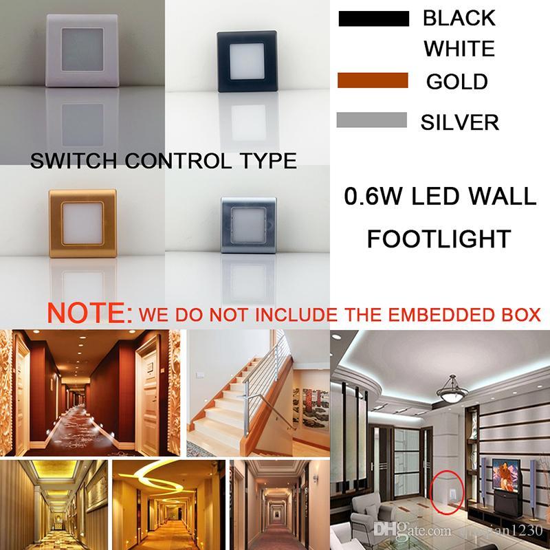 Focos pasillo moderno minimalista led focos pasillo luces del pasillo de cristal luces de - Focos pasillo ...