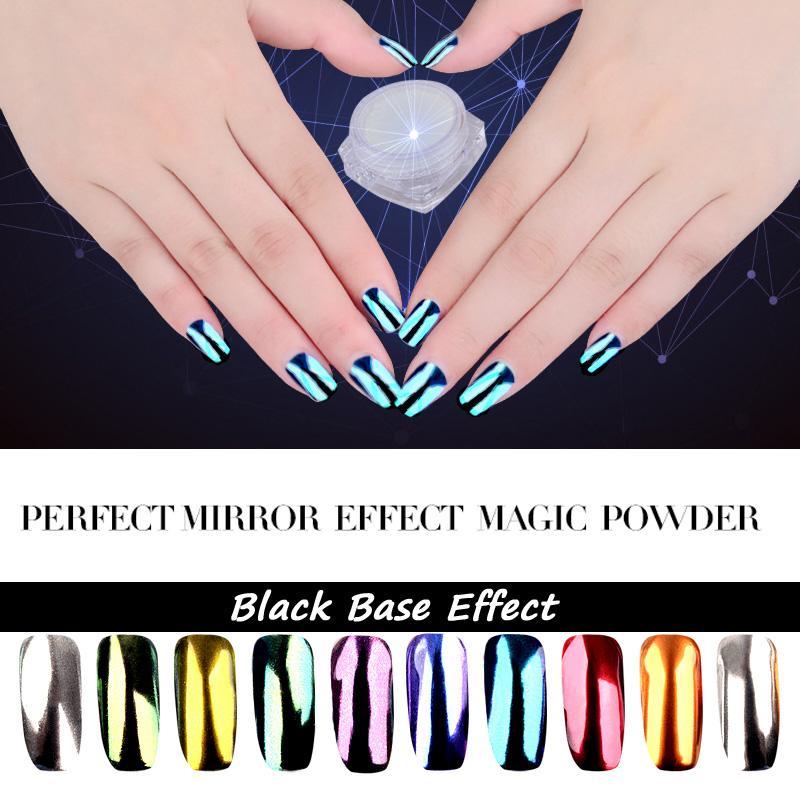 Wholesale 2g New Shinning Perfect Super Mirror Nail Glitter Magic ...