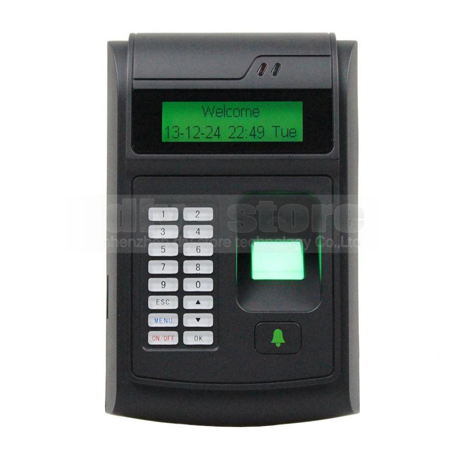 2018 Diysecur Lcd Biometric Fingerprint Pin Code Door Lock Access Wiring Diagram Control 125khz Rfid Id Card Reader Keypad Usb Bell Button From