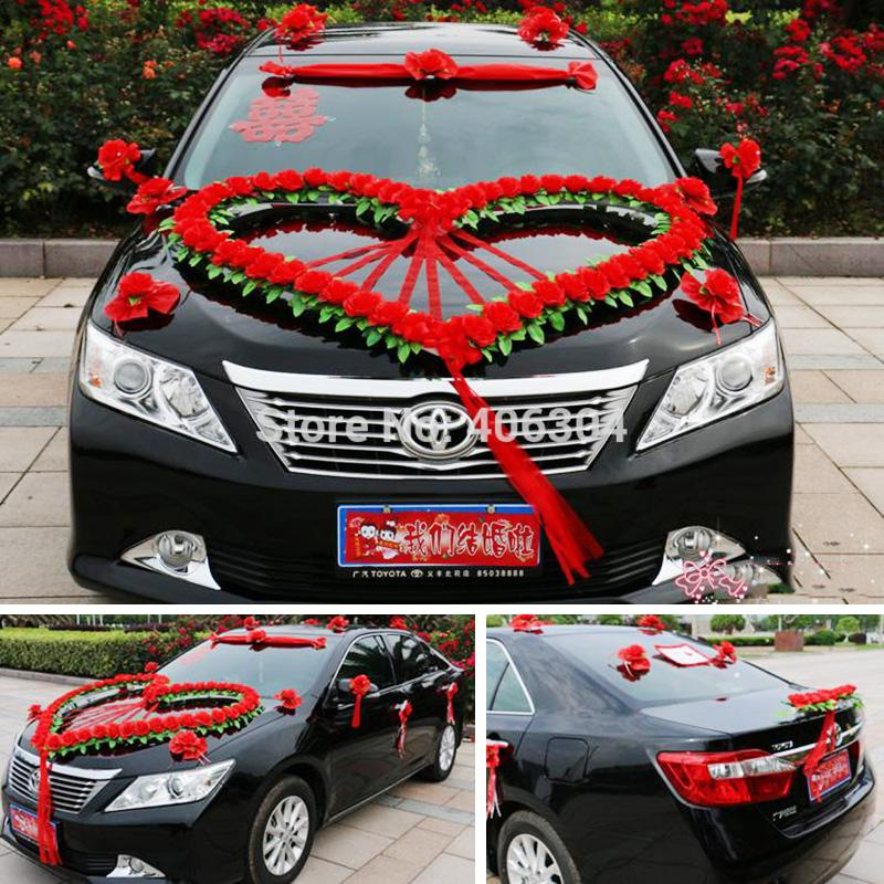 2018 wholesale artificial flowers wedding car flower decoration 2018 wholesale artificial flowers wedding car flower decoration set redpink purple big heart shape house decoration wedding decorative flower from junglespirit Choice Image