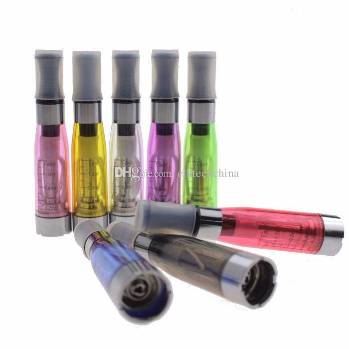 CE4 전자 담배 분무기 1.6ml - ecigs 기화기 clearomizer 배터리 비전 스피너에 대한 510 스레드 EVOD 자아 트위스트 x6 x9
