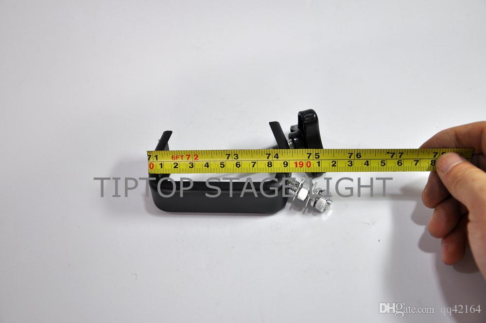 Envío gratuito 20 UNIDS 20 KG C Forma Clamp Hook Bracket Truss Kit de seguridad para iluminación de escenario Fit Pipe 32- 45mm Materiales de hierro 08A
