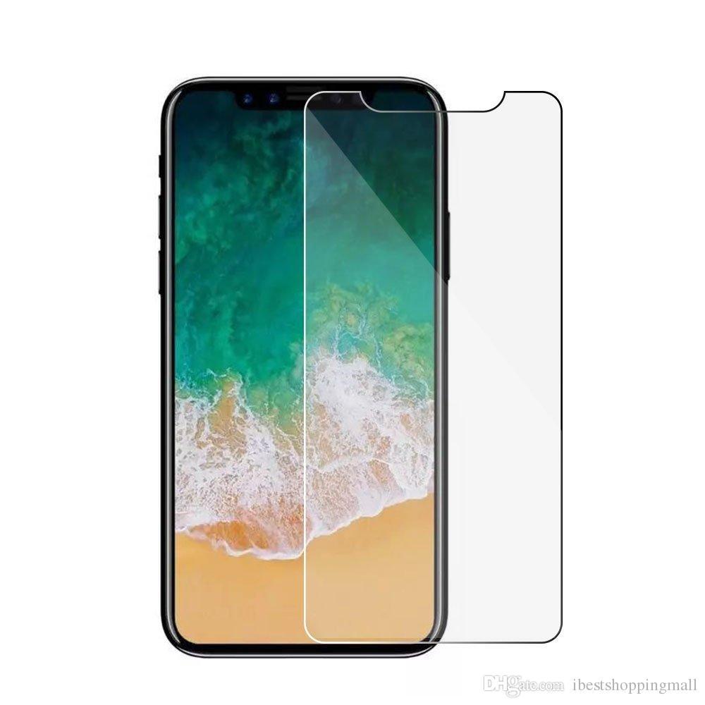 Para o iPhone 12 11 Pro máxima filme de vidro temperado filme protetor para iphone x xs max 8 7 6 s mais huawei p30 lite aristo 2 j4 j6 styo 5