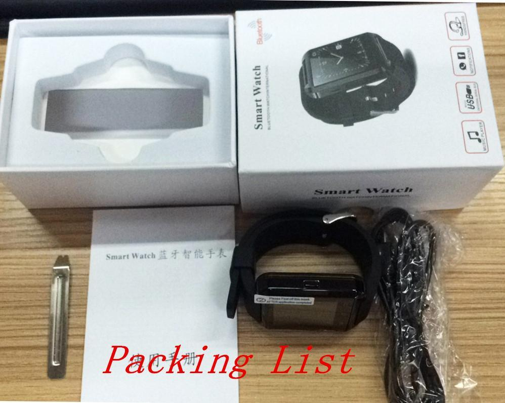 English Dial Call Offer U8 Bluetooth Smart Watch Fashion Casual Android Digital Sport Wrist Led Pair For Ios Phone Dz09 U80 Smartwatch