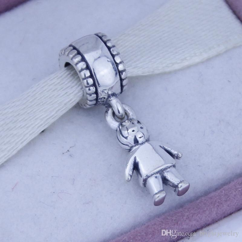 499810230 2019 925 Sterling Silver Screw Core Dangle Spacer Charm Bead Jewelry With  Boy Child Kids, Suitable For Pandora Bracelet From Brightjewelry, $14.61 |  DHgate.