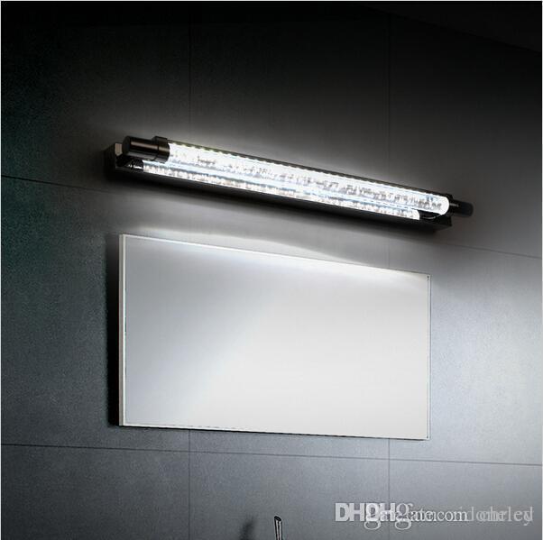 2019 Modern Crystal 6w Led Bathroom Mirror Light Front Wall Mounted
