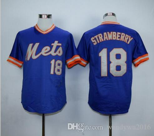 new arrival f142b a4fef new york mets 18 darryl strawberry 1985 green throwback jersey