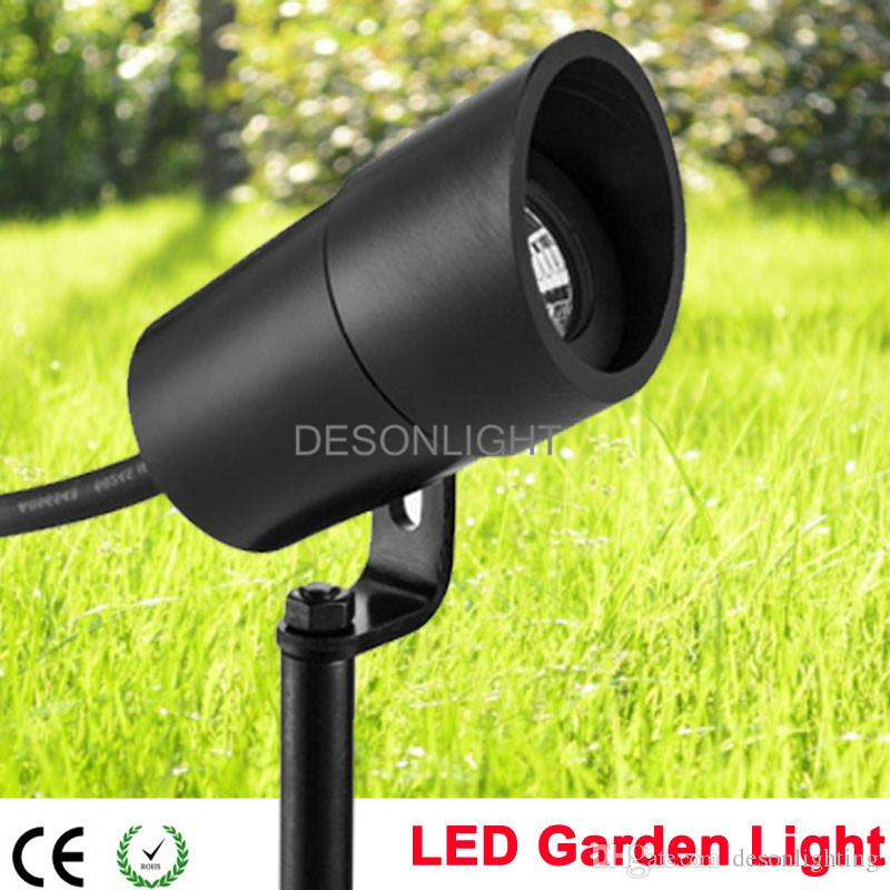 Outdoor Low Voltage LED Garden Spot Light 12V 3W COB IP67 Garden Grondspots Spike Lawn Light : low voltage spot lights - azcodes.com