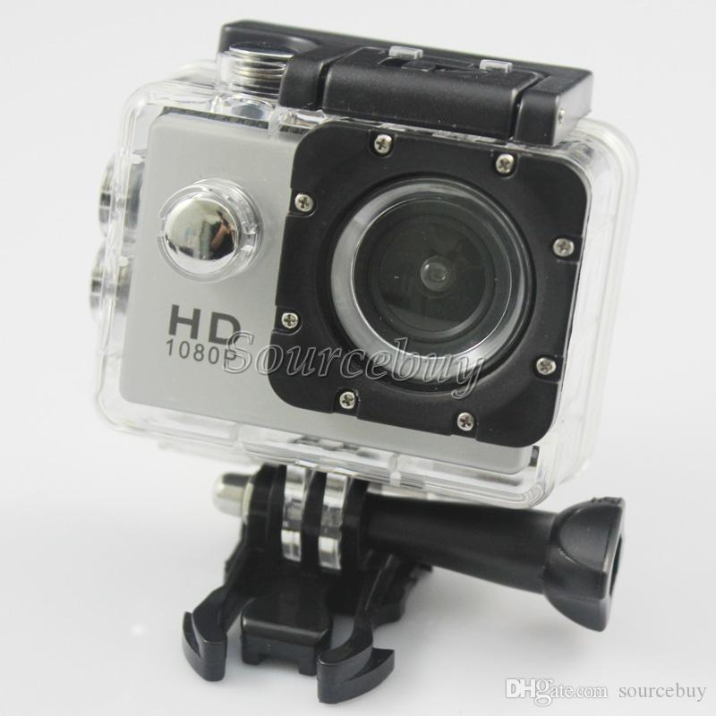"Action Cameras Cheap A9 HD 1080P Waterproof Diving 30M 2"" LCD 140° lens Sports Camera Mini DV DVR Helmet Camcorders"