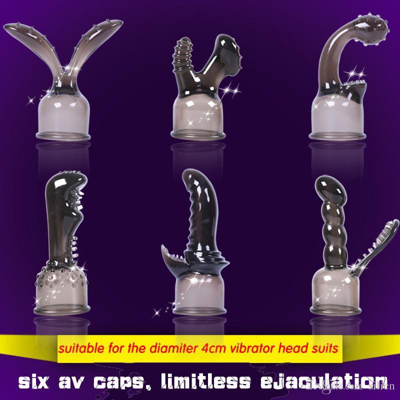 Силиконовые насадки для волшебной палочки мягкие силиконовые колпачки вибраторов, аксессуары секс товары для взрослых игрушки для женщин