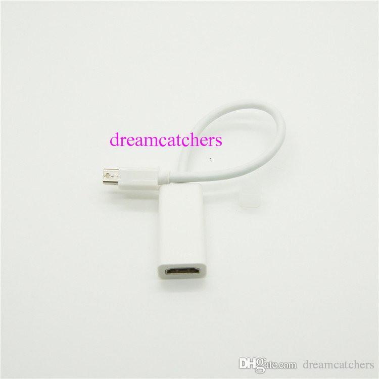 Mini Displayport Thunderbolt Mini DP Male To HDMI Female Adapter Cable HDMI Adapter Converter Cord For Apple MacBook Pro Air iMAC Mini