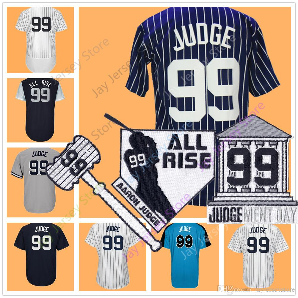 Aaron Judge Jersey Men Women Youth With Patch Nickname All Rise 2017 ... c9f13413414