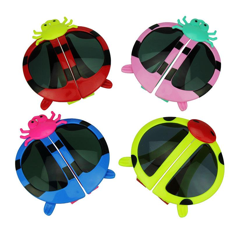 Folding Children glasses Insect decoration Kids Sunglasses Fashion Lovely Cartoon glasses Free DHL TNT Fedex UPS