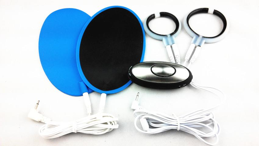 Electro Pulse Shock Health Massage Therapy Device Kit Reusable Blue Pads Penis Cock Ring Bondage Gear Sex Toys For Men Easy Games To Play Free Games Games