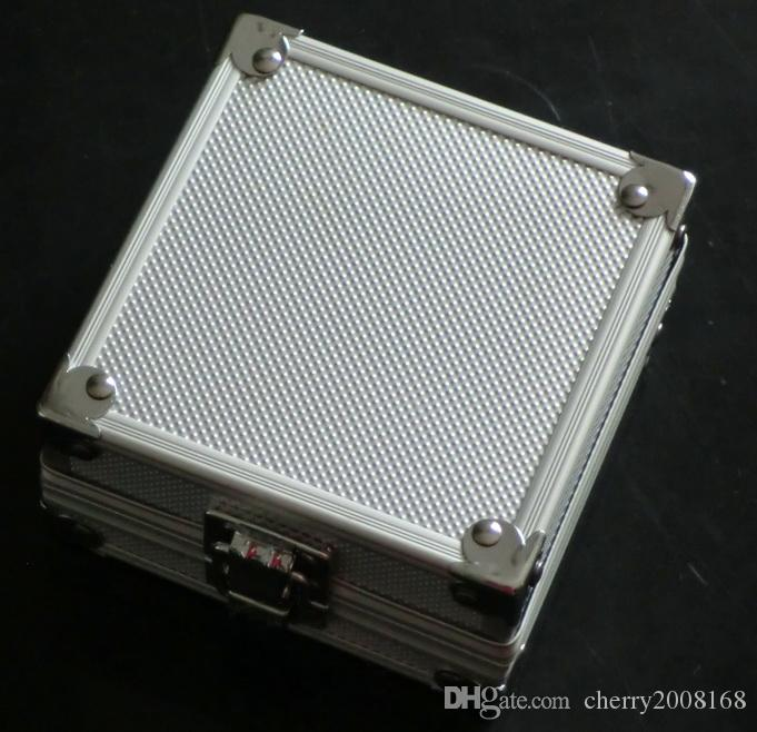 Caja de plata de aluminio de la aleación para el equipo de la fuente de las máquinas del arma del tatuaje