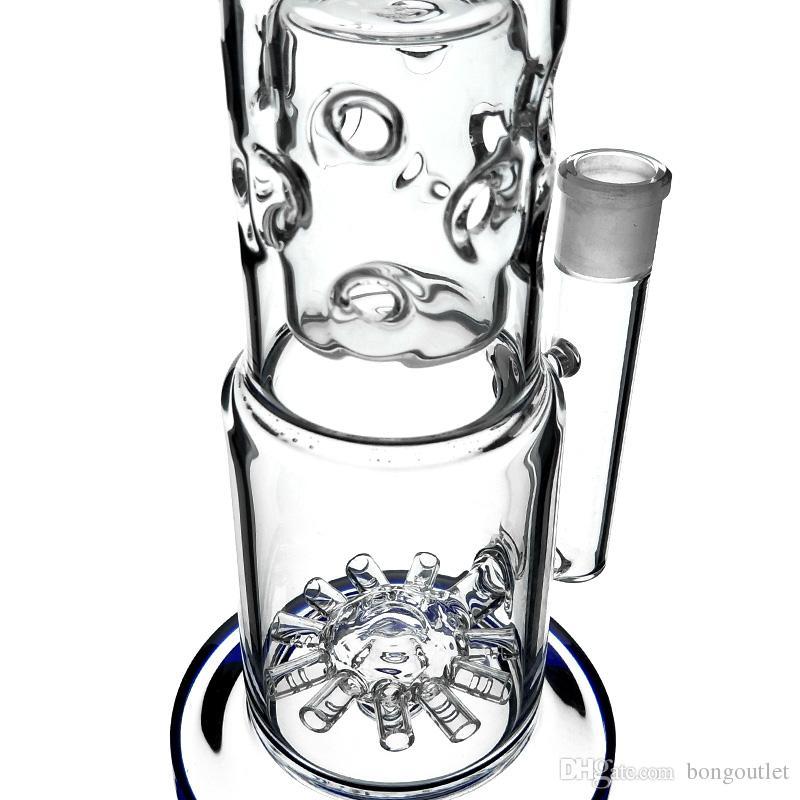 Fab Eierhaare Bong Gerade Typ Percolatros Glas Wasserleitungen 17 Zoll Höhe mit 18mm weiblicher Gelenk