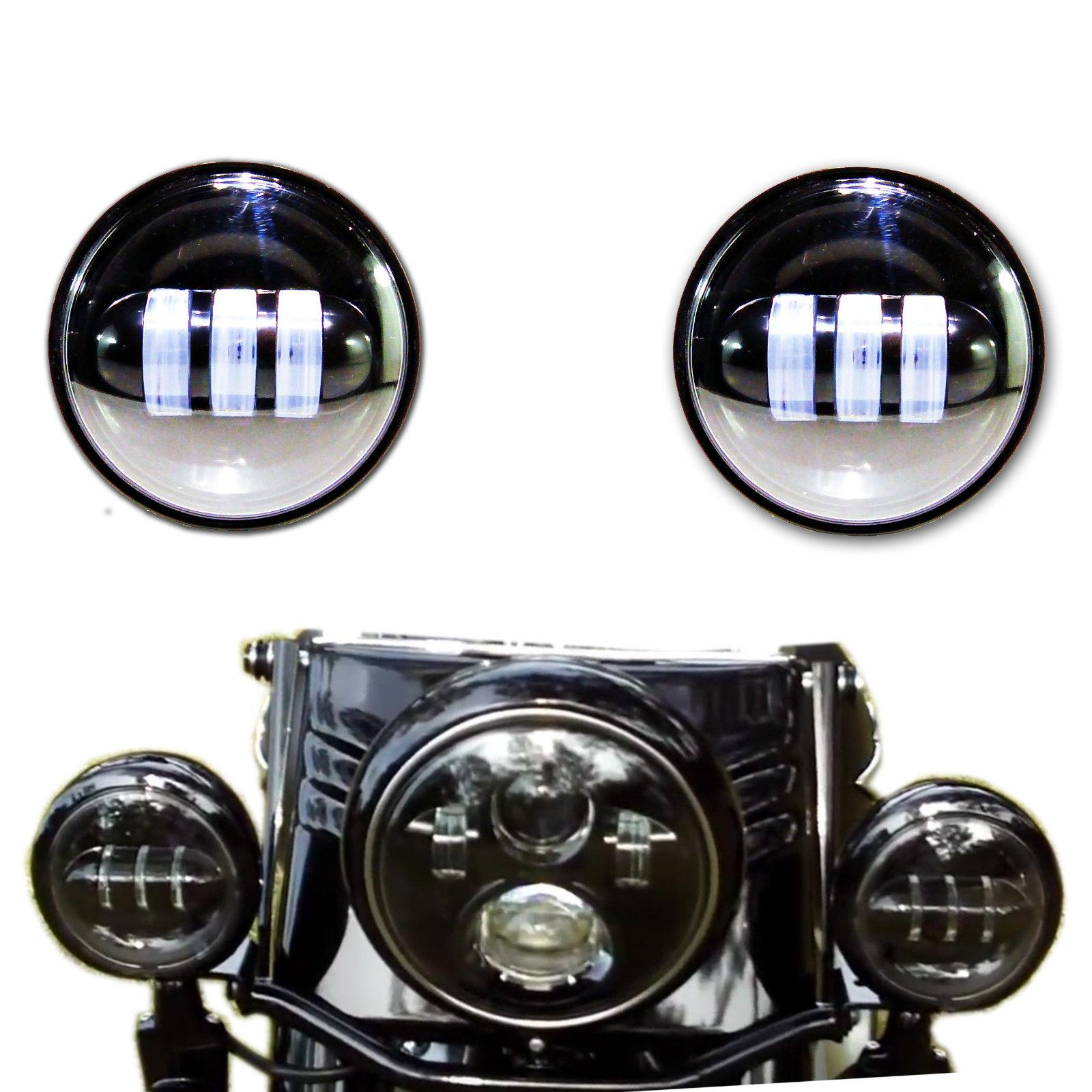 Harley Running Lights Wiring Diagrams Schematics Model Capacitor Trane 2wcc3024a1000aa 2018 4 5 Led Auxiliary Spot Light Fog Lamp 1 2 Moto