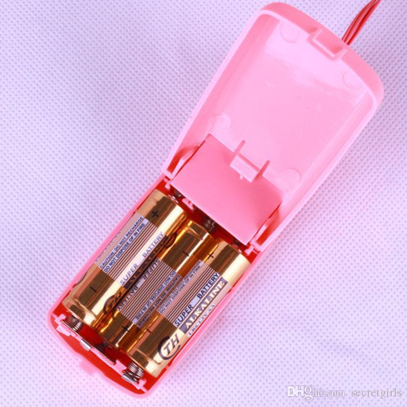 Kadınlar Seks Ürünler Hasta Öğeleri için Sıcak Satış Çift Titreşimli vibratör Atlama Yumurta vibratör Masaj Dot Bullet
